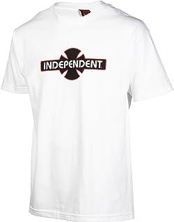 Independent Trucks PAINT ALL CURBS Skateboard Shirt WHITE XXL