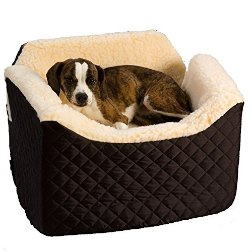 Snoozer Lookout I Pet Car Seat, Small, Black Quilted
