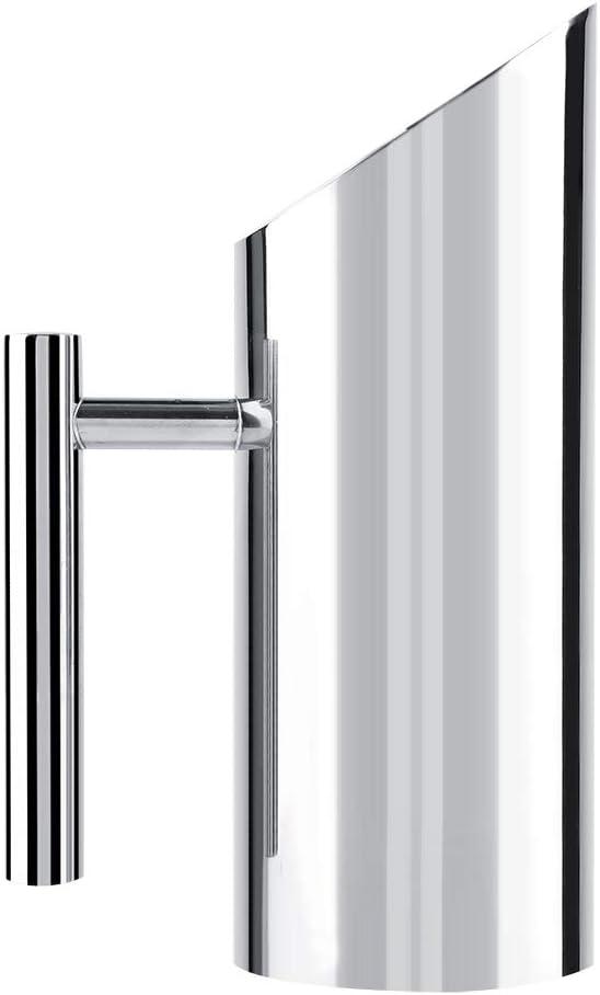 1L Brocca per acqua in acciaio inossidabile con protezione per il ghiaccio Brocca per bevande fredde Home Hotel Strumento per servire Bollitori per il t/è
