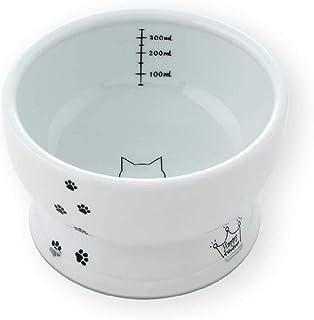 猫壱(necoichi) ハッピーダイニング 脚付ウォーターボウル シリコン付き 猫柄