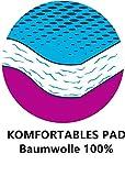LBLZMS Bügelbrettbezug Extra Groß, 160 x 60 cm für Dampfbügeleisen - Bügelbrett Bezug extra Soft mit 100% Baumwolle - Anpassbare Beschichtung, XXL - 3