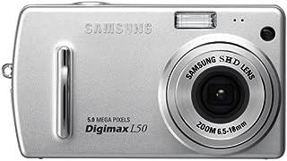 Samsung Digimax L50 5MP Digital Camera with 2.8x Optical Zoom (Silver)