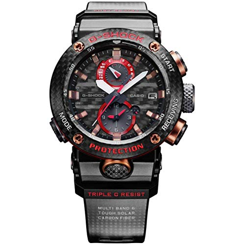 Casio G-Shock MT-G Reloj de Pulsera con Correa de Resina roja edición Limitada MTGB1000B-1A4 para Hombre