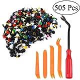remaches plastico Fiyuer 500 Pcs auto trim clips universal herramientas de desmontaje de c...