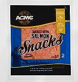 Acme Smoked Fish, Cold Nova Salmon Snacks, 8 oz