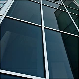 BDF NA20 Window Film Privacy and Sun Control N20, Black (Dark) - 48in X 24ft