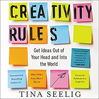 Creativity Rules audiobook cover art