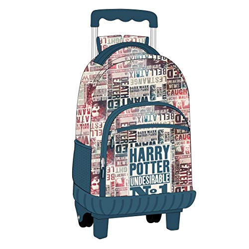 MOCHILA CARRO ESCOLAR HARRY POTTER