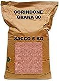 CORINDONE ROSSO/BRUNO ALL'OSSIDO D'ALLUMINIO PER SABBIATRICE GRANA 80 SACCO DA 5 KG...