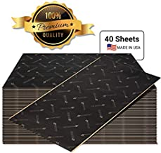 Second Skin Audio Damplifier Premium Automotive Sound Deadening Mat – Butyl Rubber Car Sound Deadener and Thermal Insulation - Made in The USA (80 Sq Ft)
