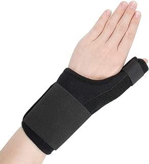 Index Finger Splint,Extension Hand Splint Medical Enhanced Thumb Fixed Sleeve Breathable Protective Wrist Cover Brace for Trigger/Mallet Finger, Rheumatoid Arthritis or Fractured Pain Relief (black2)
