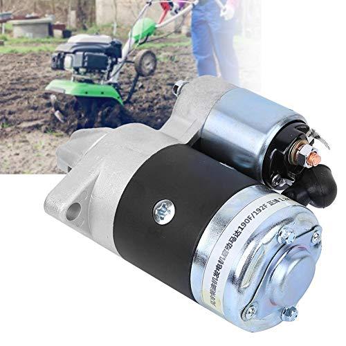 Redxiao 【𝐁𝐥𝐚𝐜𝐤 𝐅𝐫𝐢𝐝𝐚𝒚 𝐃𝐞𝐚𝐥𝐬】 Hochwertiger Eisenmotorersatz, 12V 1,2 kW 4 x 2,6 Zoll Generatormotor, für luftgekühlten Mini-Bodenbearbeitungsmaschinen-Dieselmotor