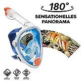 Vollgesichts Schnorchelmaske – La Costa Easy Dive Deluxe – vom Wassersportexperten Aqua Lung Gr....