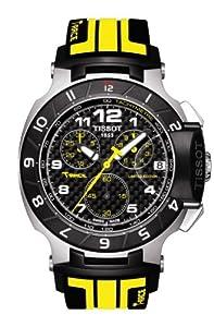 Tissot T048.417.27.202.01 T Race Moto GP Chronograph Black & Yellow Strap Mens Watch