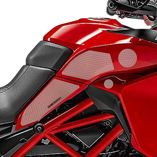 Seitlicher Tankschutz für Ducati Multistrada 950/950 S 2019/2020 durchsichtig