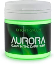 Glow in The Dark Paint, 1.7 fl oz (50ml), Aurora Bright Green, Non-Toxic, Water Based, by SpaceBeams