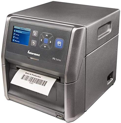 Honeywell PD43 TT, USB, LAN, 200dpi EPL, ZPL, IPL. Color Display, PD43A03100010202 (EPL, ZPL, IPL. Color Display Thermal Transfer, incl.: PSU, Power Cable (EU))