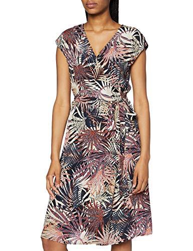 ESPRIT Collection Damen 070EO1E302 Kleid, 003/BLACK 3, 40