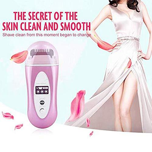 JFW-Infrared Hot-Wire Rasoir Électrique Épilateur Rechargeable Hair Remover Kit Dispositif pour Femmes Dame Femme Rasage Kit