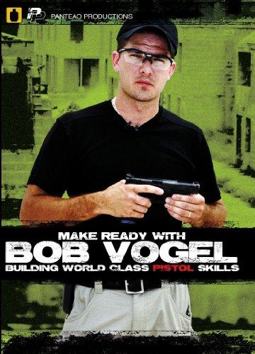 Panteao Productions: Make Ready with Bob Vogel Building World Class Pistol Skills - PMR005 -  Robert Vogel - USPSA - IDPA - Pistol Training - Handgun Skills Training - DVD