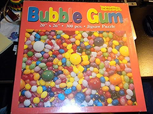 Bubble Gum 300 Piece Jigsaw Puzzle Nordevco by Nordevco
