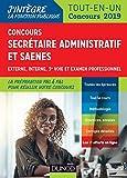Concours Secrétaire administratif et SAENES - Tout-en-un - Concours 2019
