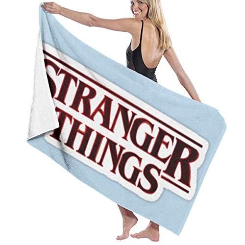 Zachary Sherman Stranger-Thing - Toalla de baño antibacteriana, absorbente, suave y de alta calidad, 130 x 80 cm