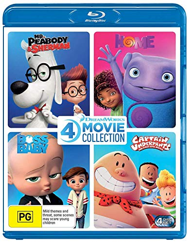 Home / Boss Baby / Captain Underpants: The First Epic Movie / Mr Peabody & Sherman (4 Film Collection)