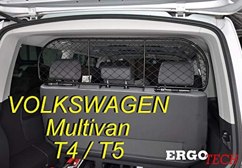ERGOTECH Trennnetz Trenngitter Hundenetz Hundegitter für Volkswagen Multivan T4 und T5