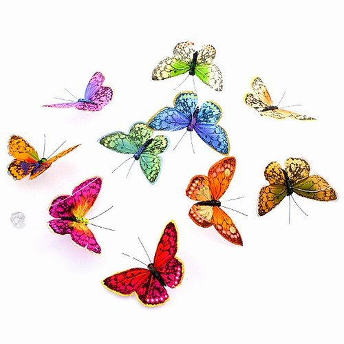 World Buyers Magnificent Butterfly Garland