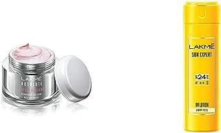 Lakmé Perfect Radiance Fairness Day Creme 50 g & Lakme Sun Expert SPF 24 PA Fairness UV Sunscreen Lotion, 60ml
