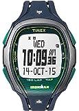 Timex Ironman Sleek Grey Dial Plastic Strap Unisex Watch TW5M09800