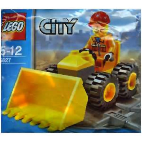 LEGO City: Mini Bulldozer Establecer 5627 (Bolsas)