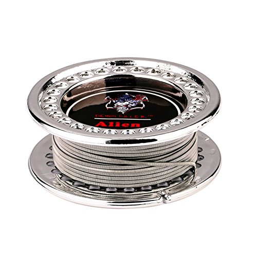 Alien diy Wire Heating Wire Hive Alien Fusing Clapton Flat Twisted Mix Wire Demon Killer (alien)
