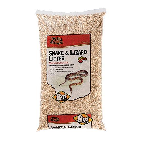 Zilla Snake and Lizard Litter, Aspen, 8 qt.