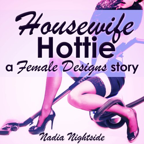 Housewife Hottie audiobook cover art