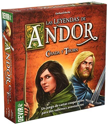 Devir Iberia - Leyendas de Andor, Chada y Thorn (223613)