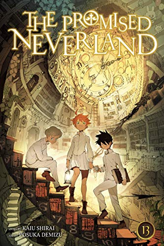 51ZNRAx0AzL - The Promised Neverland, Vol. 13: The King of Paradise (English Edition)