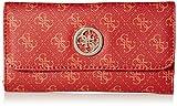 GUESS Jensen Multi Clutch Wallet, Red