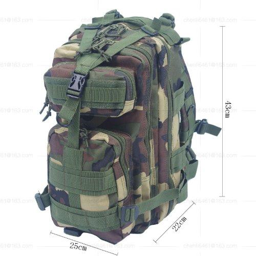 Sac à dos militaire Sac à dos camping randonnée trekking Sacs Sport et l'extérieur 30 L UK vert