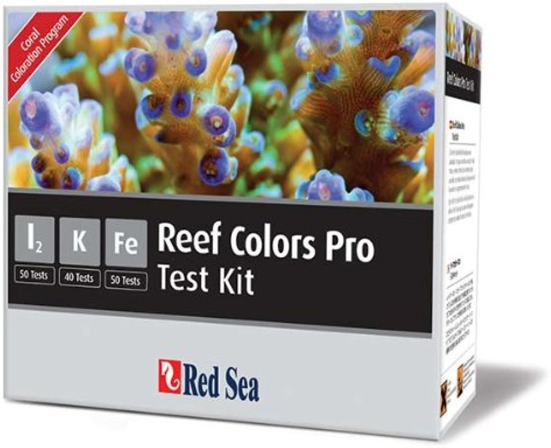 Red Sea Reef colors Pro I2 K Fe Multi Test Kit for Aquarium