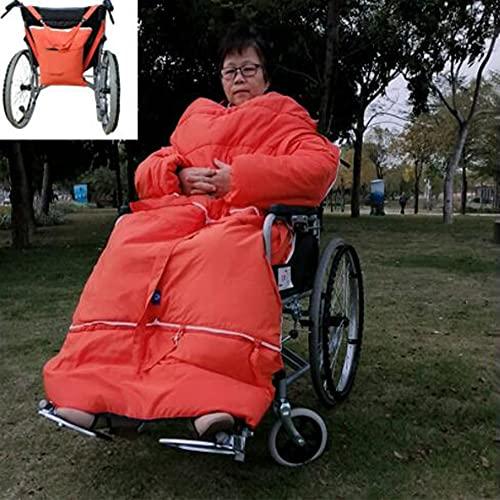 LVQING Manta de Silla de Ruedas Ligera, Patas cómodas para sillas de Ruedas y Calentador de Silla de Ruedas Inferior del Cuerpo, Adecuado para sillas de Ruedas (Color : Red)