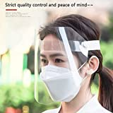Face Shield Protect Eyes and Face with Protective Clear Film Elastic Band