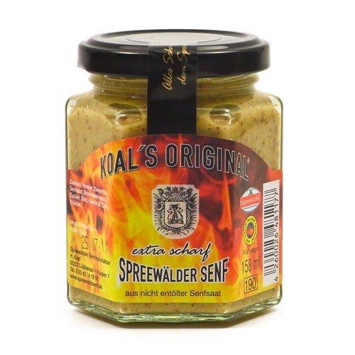 Koals Spreewälder Senf extra scharf (158 ml)