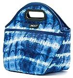 PackIt Traveler Tie Dye Bolso Portalimento Congelable, Lona Impermeable, Azul, 15x34x27 cm