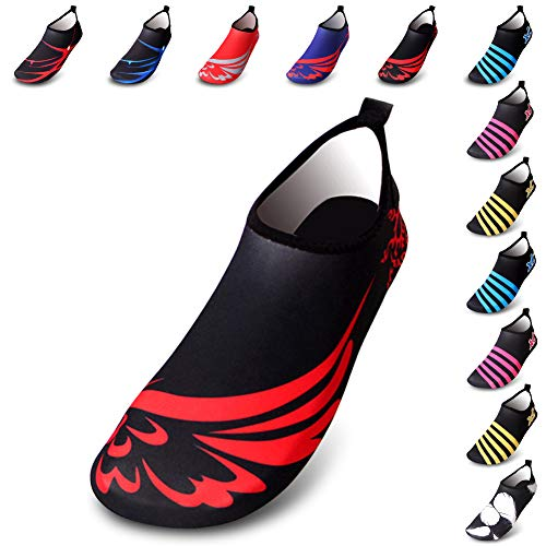 YOUNICER Calzado acu/ático Barefoot Quick Dry Sports Aqua Shoes Beach Swim Surf Yoga Ejercicio