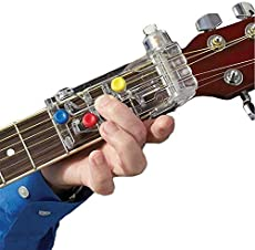 Guitar Beginner One-Key Chord Assisted Learning Tools Classical Chord Guitar Chord Practice Tool for Adults & Children Trainer Beginners