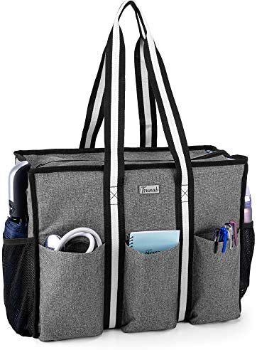 Trunab Nurse Bag and Tote for Work with Padded Laptop Sleeve Nursing Bag with Multiple Pockets product image