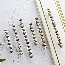 Lade Handgrepen Ladekast Handgrepen Bamboe Brons Handgrepen/Kast Handgrepen Keuken Hardware-Roestvrij staal, 64mm