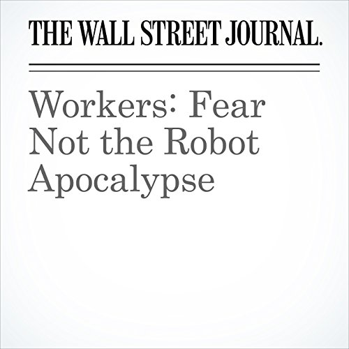 Workers: Fear Not the Robot Apocalypse copertina